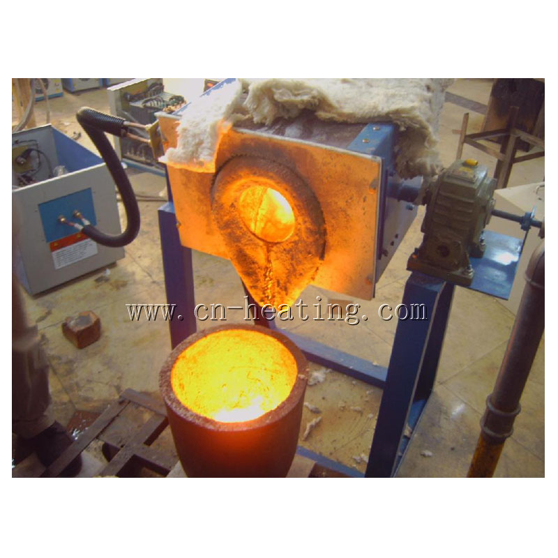 induction melting furnace video