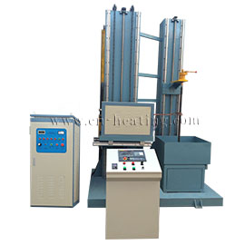 Vertical CNC shaft hardening machine tool